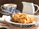 Снимка на рецепта Ябълков пай с бутер тесто, канела и пудра захар